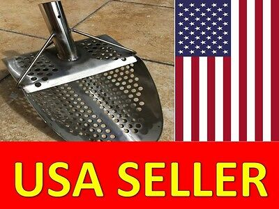 Sand Scoops for Metal Detecting Scooper Metal Detector Beach Stainless Tools USA