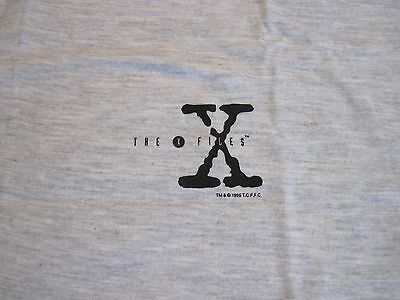 The X-Files Vintage Gray T-Shirt