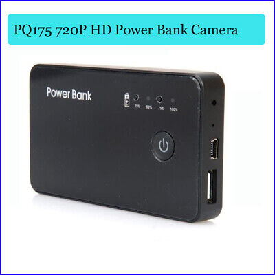 720P HD Motion Activated Spy Camera DVR Power Bank Portable Battery Video Spycam