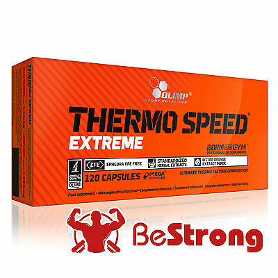OLIMP THERMO SPEED EXTREME Slimming Pills Fat Burner Weight Loss RM 1st Class!
