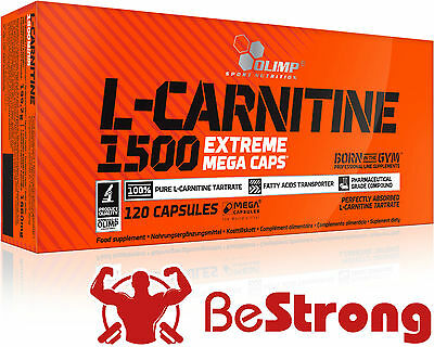 OLIMP L-CARNITINE 1500 EXTREME Mega Caps Slimming Fat Burner Weight Loss