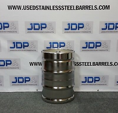 "Stainless Steel Keg NEW 15.5 gallon with 2"" ferrule installed. Only 1. SKU 07"