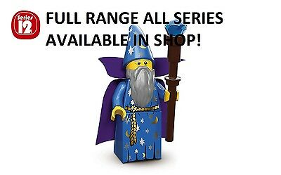 Lego minifigures wizard series 12 (71007) unopened new factory sealed