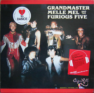 LP: Grandmaster Melle Mel And The Furious Five (NM)