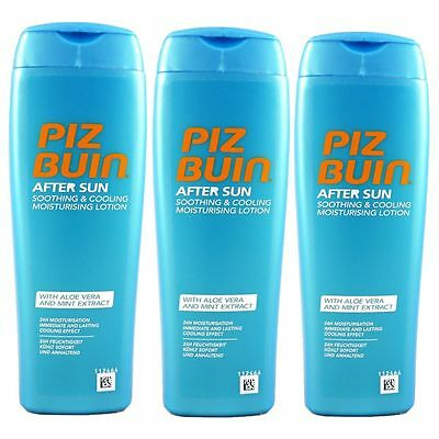 Piz Buin After Sun Soothing & Cooling Lotion 3 x 200 ml Set