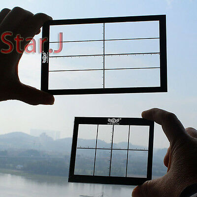 2 Artists Viewfinder Frame Painting Sculpting Drawing Sketching Paint Tool Aid