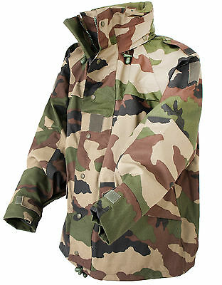 French Army Goretex Parka / Jacket Genuine Military Issue Surplus Waterproof