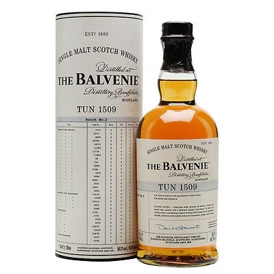 The Balvenie Tun 1509 Batch 2 Limited Edition Single Malt Scotch Whisky 700mL