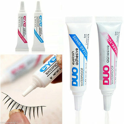 Brand New DUO False Eyelash Glue Adhesive 9g, Dark or Clear, Waterproof UK