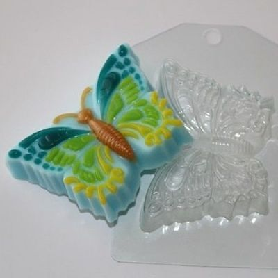 """""""Butterfly"""" plastic soap mold soap making mold mould"""