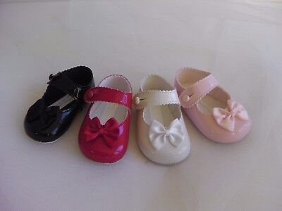 Baby Girl Bay Pods Soft PU Special Occasion Formal Dress Shoe foot ribbon bow