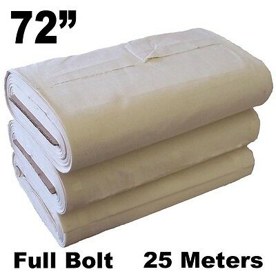 "72"" Cotton Canvas - 25 Meter Full Roll"
