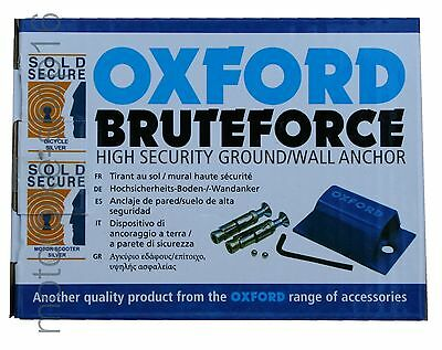 OXFORD Bruteforce Security Ground Wall Anchor OF439