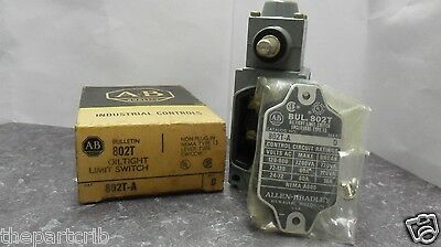 New Allen Bradley 802T-A Side Rotary Limit Switch Series D NIB