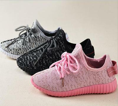 Children kids YEEZY Boost Customs Sneakers  Shoes Casual Boots 350 Gifts