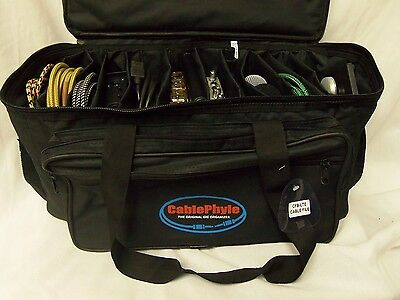 Cable File Bag CFB-LTE - Smaller Lighter Model Cable & Accessories Organiser Gig