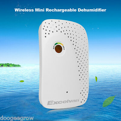 Wireless Renewable Air Dehumidifier Cabinets Closets Car Home 150ml Per Cycle