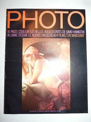 PHOTO FRENCH MAGAZINE #48 septembre 1971 David Hamilton