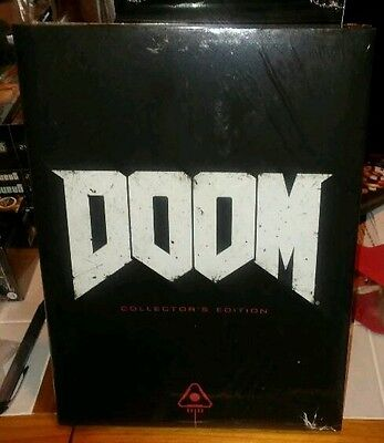Doom 2016 Collectors Edition Strategy Guide Book Factory Sealed Brand New