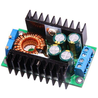 10A 300W DC-DC Buck Converter Step-Down 8-40V to 1.25-35V with Current Control