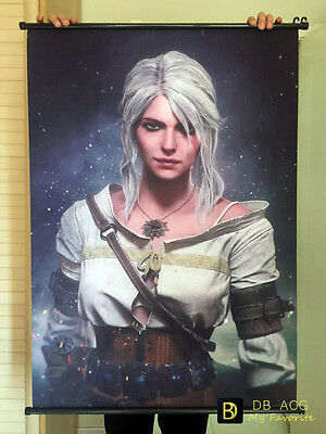 The Witcher 3 Ciri Home Decor Poster Wall Scroll Painting  60cm*90cm