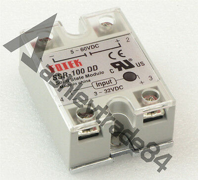 1PCS Solid State Relay Module SSR-100 DD DC-DC 100A 3-32VDC/5-60VDC