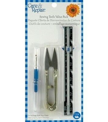 Sewing Tools: Snips, Seam Gauge and Seam Ripper. Free Delivery