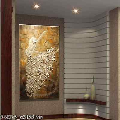MODERN ABSTRACT HUGE WALL ART OIL HAND PAINTING ON CANVAS ballet no framed