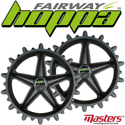 Fairway Hoppa/Hedgehog Trolley Winter Wheel Covers CHEAPEST £18.99 FREE Deliver