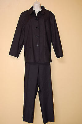 Gap Women's Size Xl Black Fabulous 2 Piece Maternity Pants Suit Euc!
