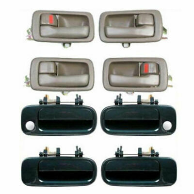 Outside Exterior Door Handle Set 4pcs For 97-01 Toyota Camry Green 6P2 DH64
