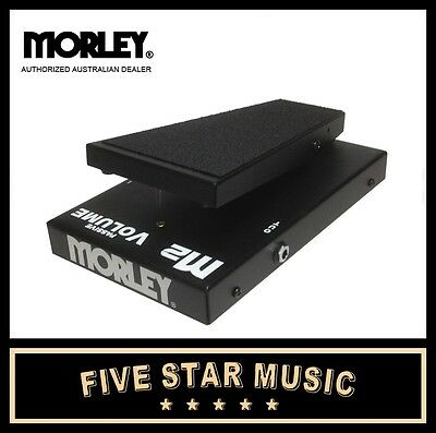 Morley M2 M2Vo Passive Volume Wah Guitar Effects Pedal - Brand New Morely
