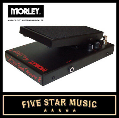 Morley Vai-2 Steve Vai Bad Horsie 2 Contour Wah Guitar Effects Pedal Morely