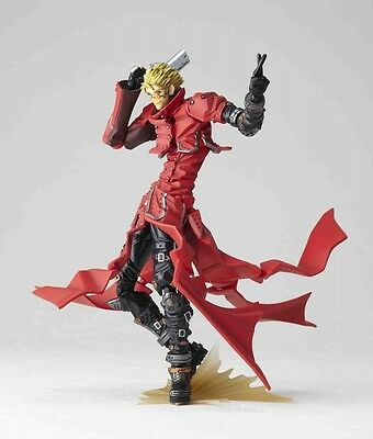 Kaiyodo Trigun the Movie Revoltech Yamaguchi No.91 Vash Stampede JAPAN F/S J7765