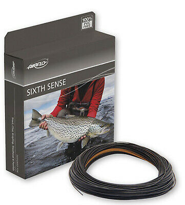 Airflo Sixth Sense Sinking Weight Forward Fly Fishing Line Sink Di8 Colour Black