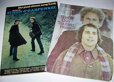 """Music Of Simon And Garfunkel - Song Book - """"bridge Over Troubled Water"""" Music"""