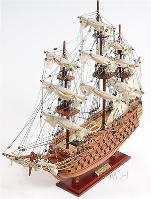 Antique Style Victory Fully Assembled Model Ship Replica- Her Majesty Ship