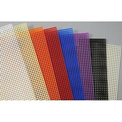 7 Mesh Plastic Canvas Assortment Pack. Free Shipping