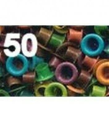 American Tag Company 40416 Eyelets Vibrant 100pk 0.5cm. Shipping Included