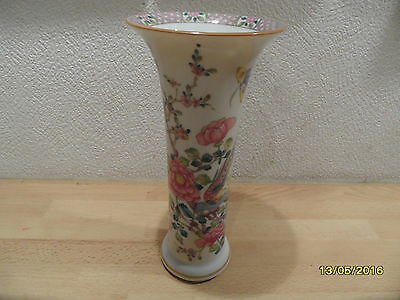 Schöne Vase Classic Rose Ching Dynasty Famille Rose Rosenthal