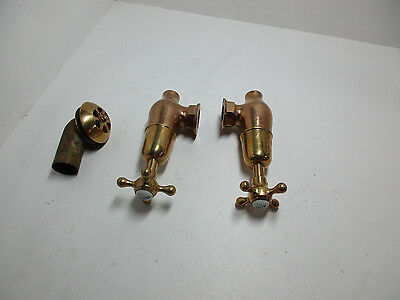 Antique Bathroom Clawfoot Tub water faucet Solid Brass!