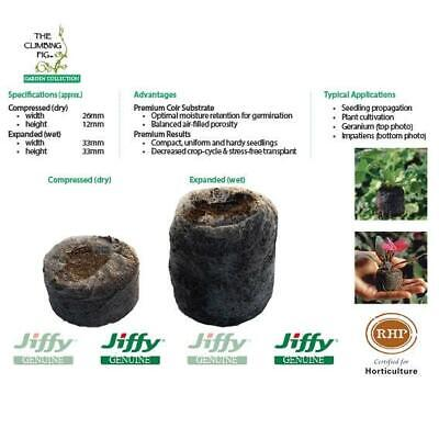 30mm Jiffy-7 Coir Pellets. For seed & cutting propagation. Range of pack sizes.