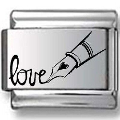 Pen writing Love Laser Italian Charm. Delivery is Free