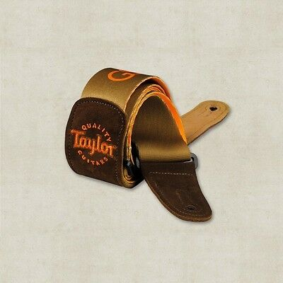 Taylor GS Mini Suede Guitar Strap. Delivery is Free