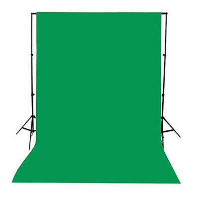 5x10Ft Green Retro Wall Photography Backdrop Background Studio Prop Light Stand