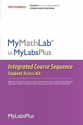 MyMathLab Plus Integrated Course Sequence (Standalone Access Card)