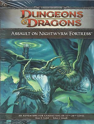 Dungeons & Dragons-D&D-ASSAULT ON THE NIGHTWYRM FORTRESS-d20-(SC)-engl.-new-rare