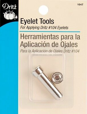 Dritz Eyelet Tool -For 0.3cm Eyelets. Shipping Included