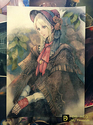 Bloodborne Doll Girl Home Decor Poster Wall Mural Paintings 29.7cm*42cm