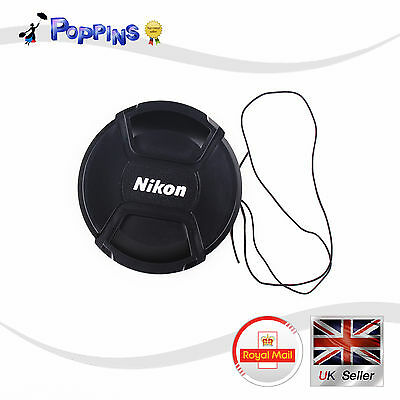 New LC82 Snap-On Lens Cap LC-82 LC82 82 mm For Nikon LC-82 LC82 UK Stock